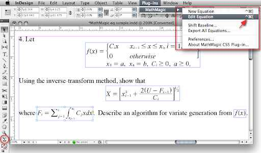 MathMagic Pro Edition for Adobe InDesign